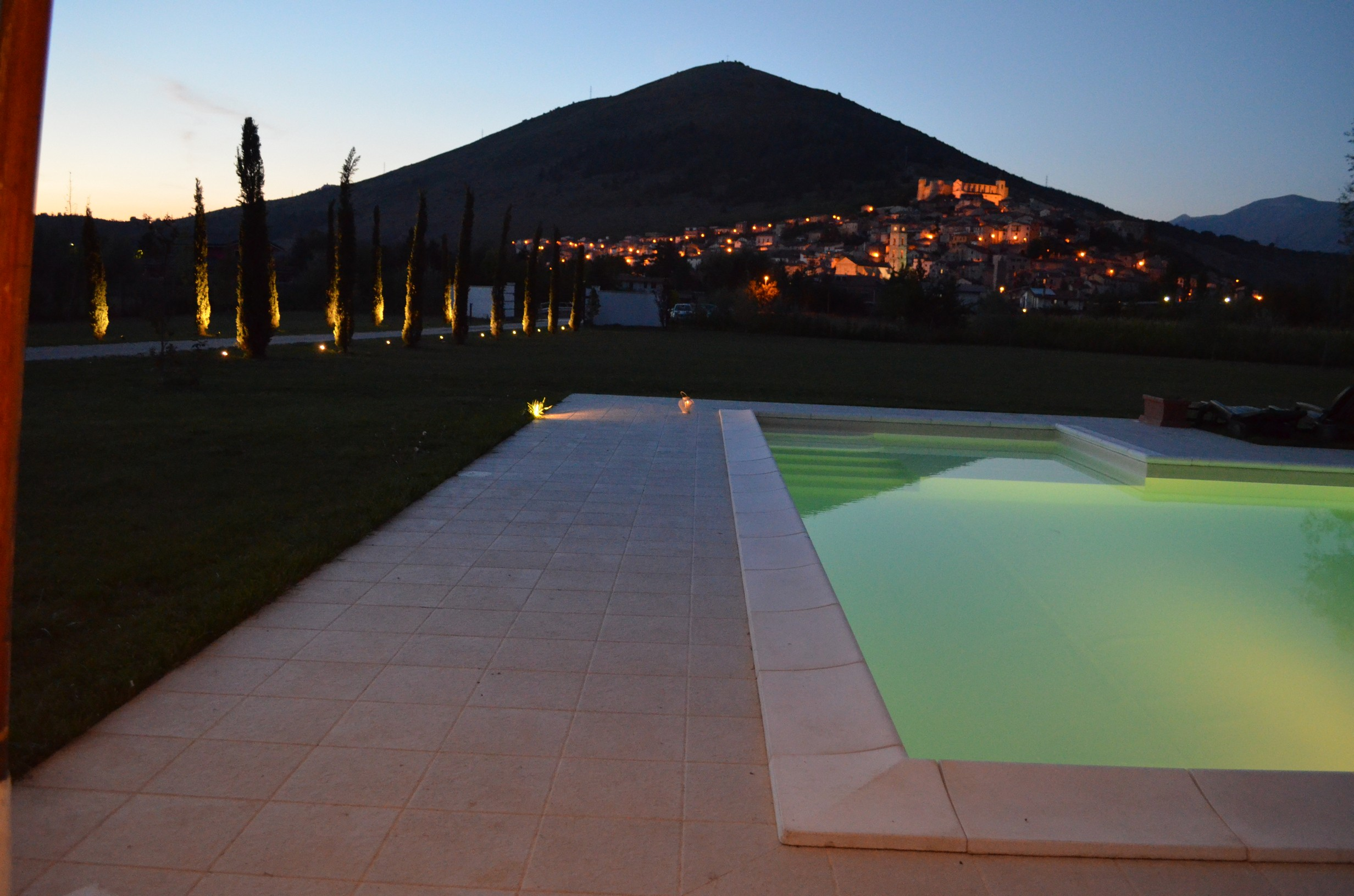 Piscina Villa Palentina Country House B&B Marsica